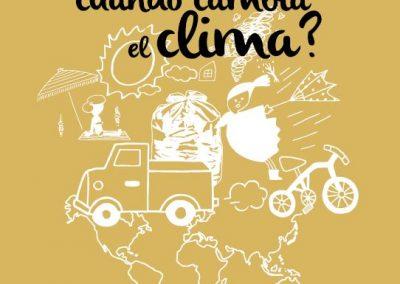¿Qué cambia cuando cambia el clima?